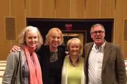 Terri Ralston, Jean Strazdes, Stephanie Sanders, and Peter Ralston