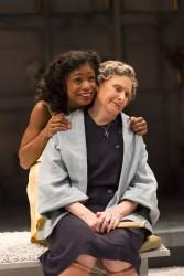 Juliet (Kaliswa Brewster) and Nurse (Kandis Chappell)