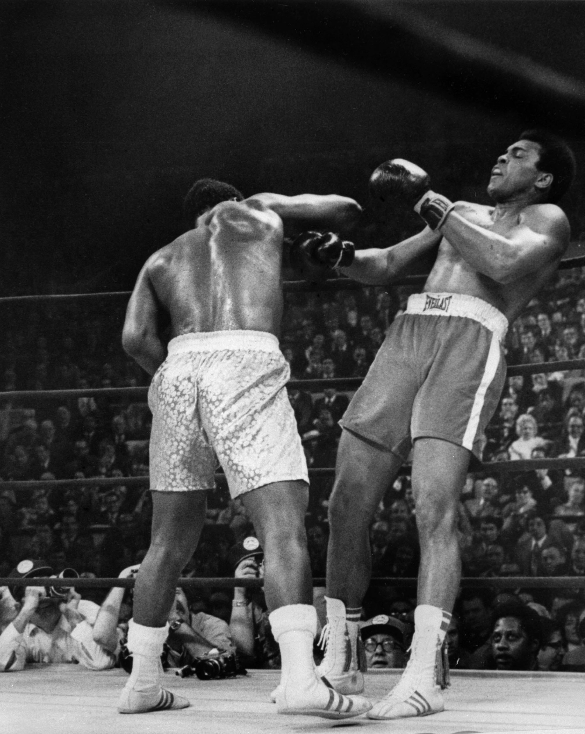 Ali v frazier i 11th and 15th rounds