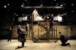 The cast of Shakespeare's Julius Caesar at Trinity Rep Photo by Mark Turek