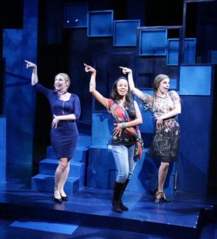 April (Adrianne Hick), Marta (Carla Martinez), Kathy (Maria LaRossa)