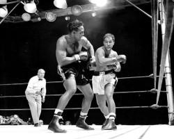 Archie Moore vs Rocky Marciano