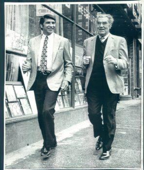 Gregorio Peralta and Jack Dempsey