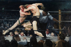 Stag at Sharkey's, George Bellows