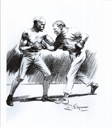 TR Sparring with Mike Donovan