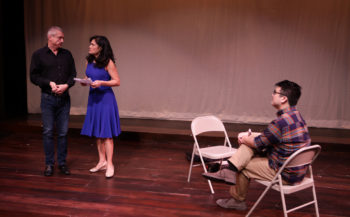 Will McGarrahan, Celeste Oliva, Michael Hisamoto (Photo: Mark S. Howard