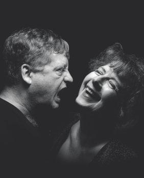 Steven Barkhimer and Paula Plum