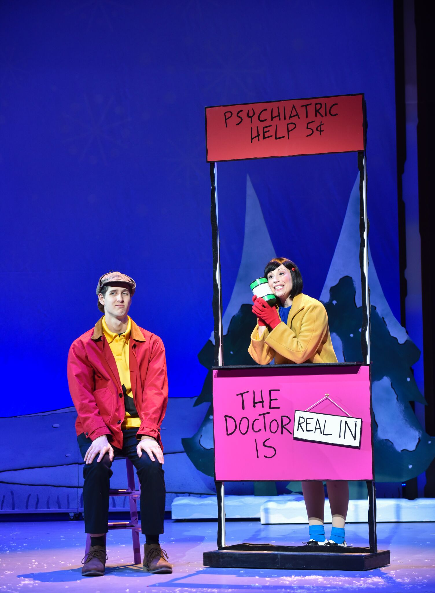 A Charlie Brown Christmas Live On Stage.A Charlie Brown Christmas Live On Stage In Boston Boxing