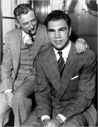 Joe Jacobs with Max Schmeling