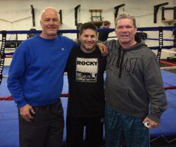 Jim with Gene Beraldi and Danny Cronin