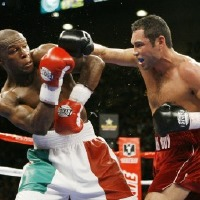 May weather vs De La Hoya