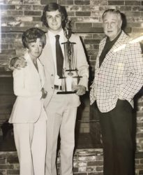 Jim With His Mother and Father